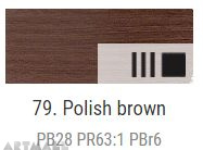 Oil for ART, Polish brown 20 ml.