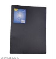 Display book 60 pocket, black
