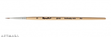 Round brush, kolinsky mix, №0