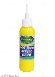Free Flow Acrylic 120 ml Bright Yellow