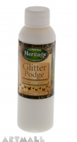 Glitter Podge Silver, 120 ml