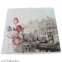 "Paper napkins for decoupage ""Tulips"""