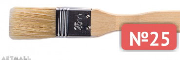 Painting brush bristle №25