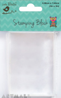 Acrylic Stamping Block 3x2inch 20mm, 1pc