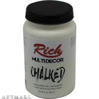 CHALKED ACRY.PAINT-250ML : SNOWDROP