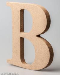 """Wooden Letter """"B"""""""