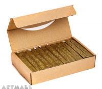Wax sticks, Gold, 36 pcs
