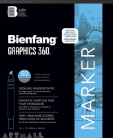 Art Products Bienfang Graphics 360 Marker Paper Pad 14-inch x 17-inch