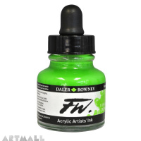29.5 ML FW INK FLUORESCENT GREEN