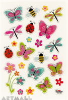 "Stickers ""Insects in Summer"""