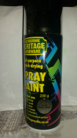 Spray Paint 230 g, Bright Chrome