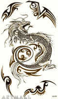 "Tattoos ""Power of the Dragon"""
