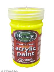 Student's Acrylic 250 ml,054 Glow Yellow