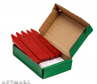 Sealing wax, box 10 sticks RED