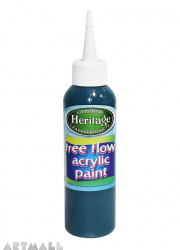 Free Flow Acrylic 120 ml Dark Green