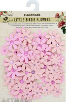 Jewelled Florettes Blush 80Pc