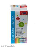 Colour pencils box (12 pcs )