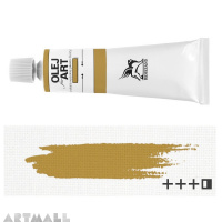 Oil for ART, Metallic gold 60 ml.