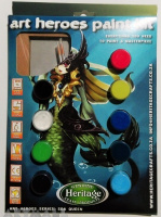 Art Heroes Paint Kit, Sea Queen