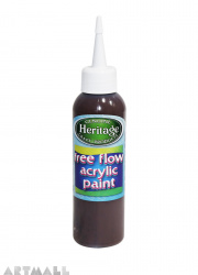 Free Flow Acrylic 120 ml Dark Brown