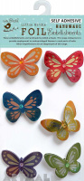 Foil Printed Butterfly 6Pc Mini Embellishment