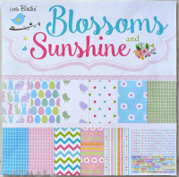 "Spring - 12"" X 12"" Pattern Paper - Blossom And Sunshine 12sheets"