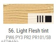 Oil for ART, Light flesh tinte 60 ml.