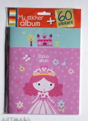 Kit album + 60 stickers, 1 album + 2 sticker sheets, size: 14.7x18cm