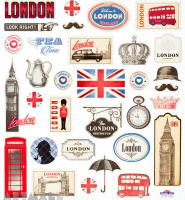"Stickers ""United Kingdom"""