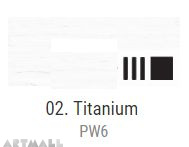 Oil for ART, Titanium white 500 ml