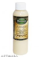 Antique Crackle, Top Coat, 120ml