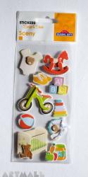 "3D Stickers ""Kids room"""