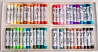 Cardboard box, 48 assorted Soft Pastels