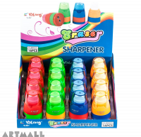 90023 - Sharpener & Eraser - Oval, (Dis16)