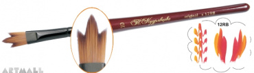 "Brush ""Trident"", synthetic  №07"