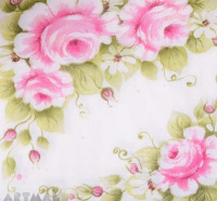"Paper napkins for decoupage ""Pink Roses"""