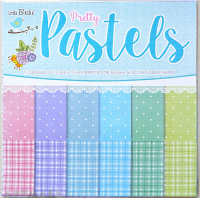 Pretty Pastels Pattern Ppaers 12x12inch, 12sheets