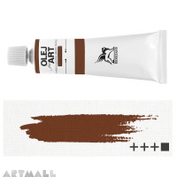 Oil for ART, Mars brown 60 ml.