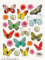 "Stickers ""Flowers & Butterflyes"""
