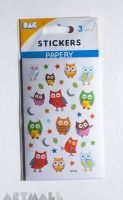 "Stickers ""Funny owl"""