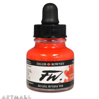 29.5 ML FW INK FLUORESCENT RED