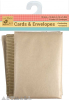 Corrugated Cards & Envelops 10Pc