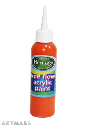Free Flow Acrylic 120 ml Orange