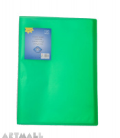 Display book 60 pocket, green