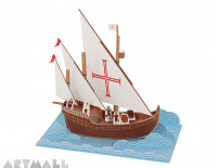Caravel Paper Toy
