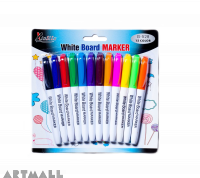 G-528- White board marker small 12 color