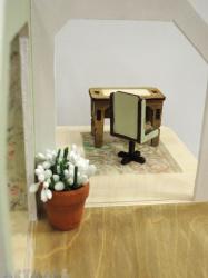Mini wooden furniture - office room