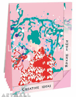 "Notepad ""Creative Ideas"", color Pink"