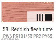 Oil for ART, Reddish flesh tinte 60 ml.