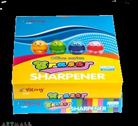 90016- Sharpener & Eraser Capsole, DIS(20)